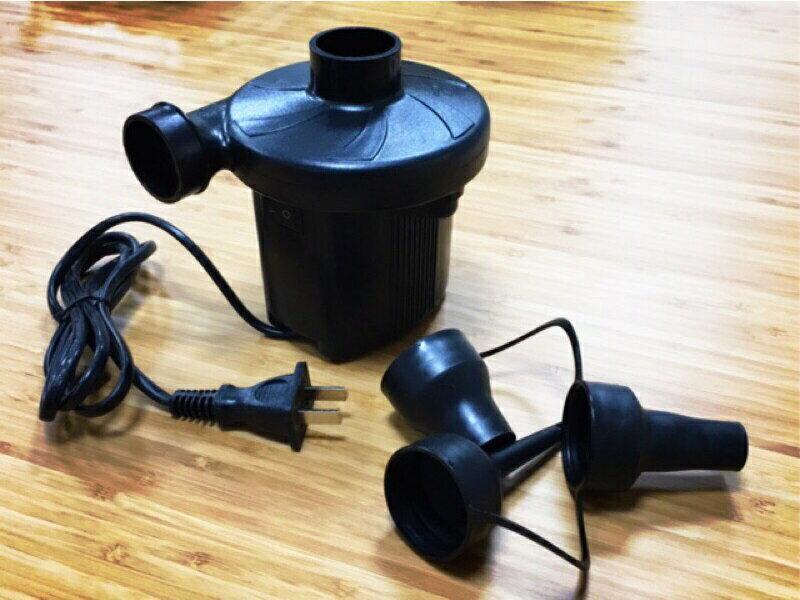 【野道家】電動打氣機 附3種氣嘴 充放兩用 打氣機 充氣筒 抽氣機 充氣機 充氣泵 幫浦 游泳圈 充氣床