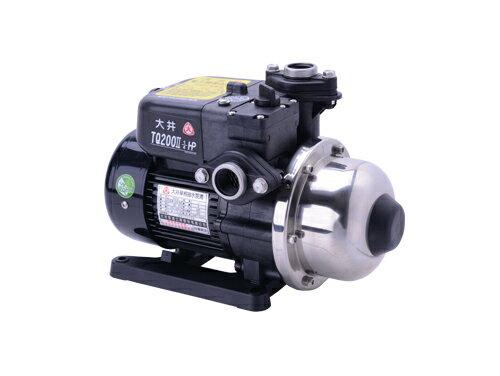 大井電子穩壓加壓機1/4HPX3/4/TQ200