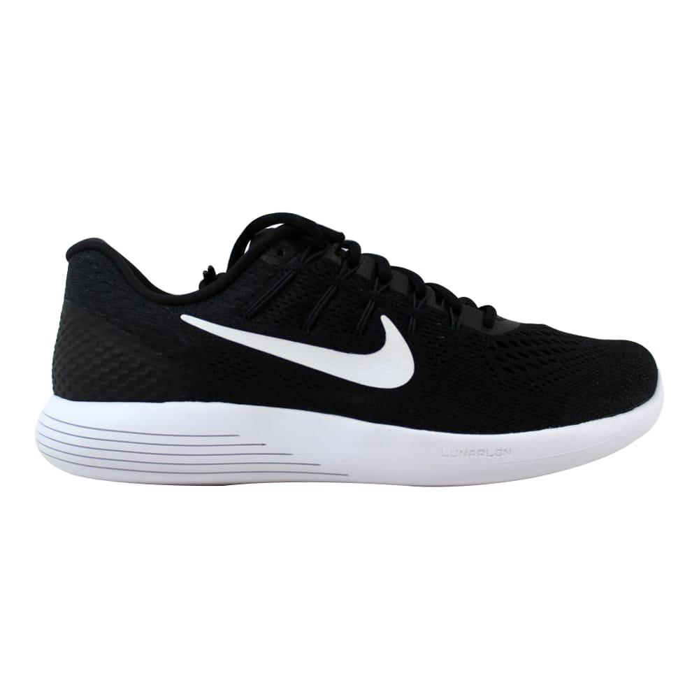 4db3e00c1c813 Kixrx  Nike Lunarglide 8 Black White-Anthracite AA8676-001 Men s ...
