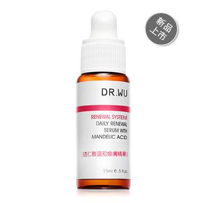DR.WU PLUS 杏仁酸溫和煥膚精華(15ml) 新品上市 【淨妍美肌)