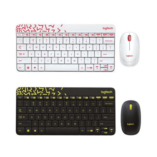 羅技 NANO 無線鍵盤滑鼠組-2色 / 組 MK240