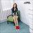 格子舖*【KF702】韓國製造 街頭中性休閒風 單色素面質感高品質真皮 高筒休閒鞋 2色 1