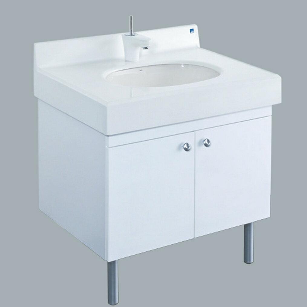 HCG檯面臉盆浴櫃/不含水龍頭/L347+MCA080+LCS080MCA