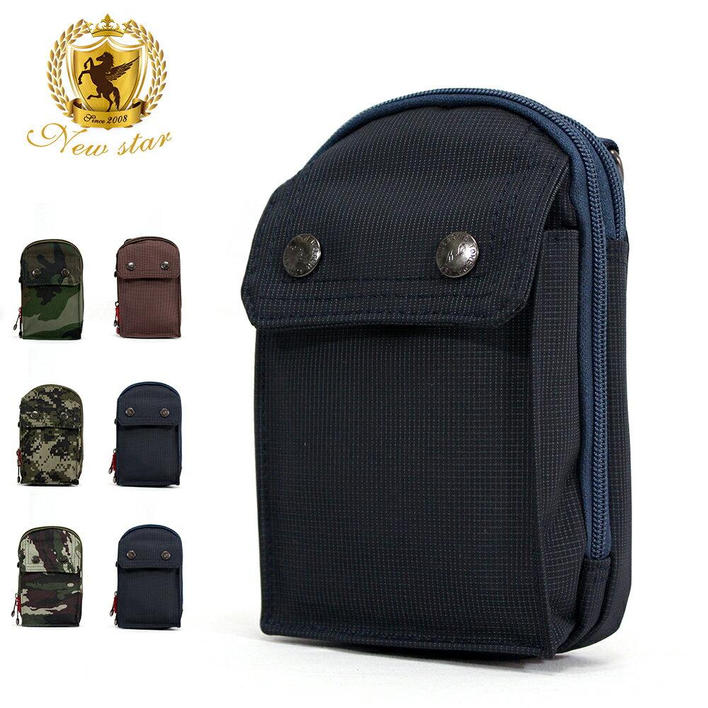 <br/><br/> 腰包 輕便素面迷彩雙層掛包側背包手機包包 NEW STAR BW33<br/><br/>