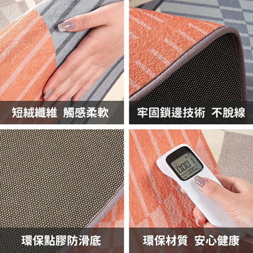 北歐輕奢風圓形地毯(120*120) 地毯 吸水墊 腳踏墊 踏墊 5