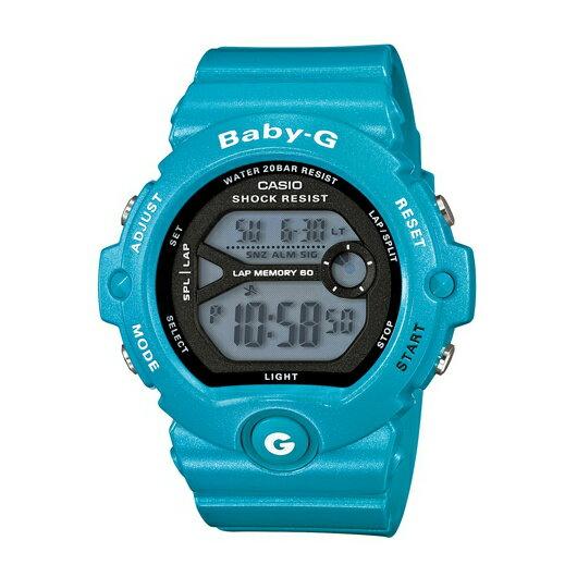 CASIO BABY-G BG-6903-2春春耀動(土耳其藍)數位流行腕錶/黑面45mm