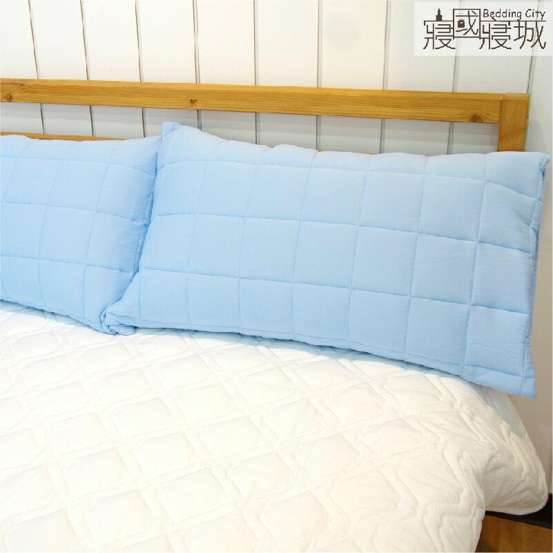 兩款任選-保潔墊枕套(2入) 【信封式、可機洗、柔軟舒適】 #寢國寢城 #台灣製 3