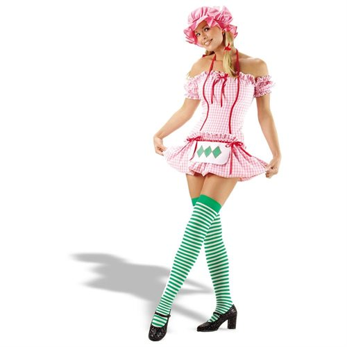 Leg Avenue 18196 Strawberry Doll Adult Halloween Costume Size X-Large 0