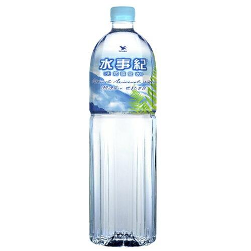 統一水事紀麥飯石礦泉水1500ml【愛買】