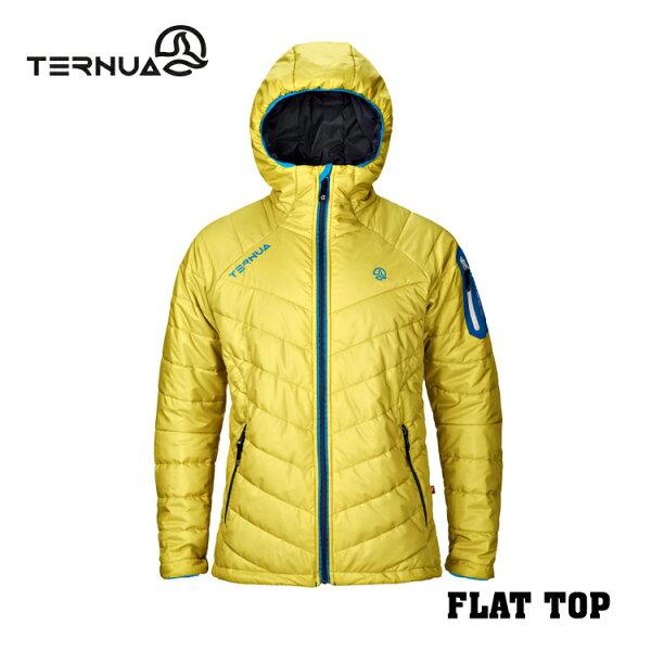 【西班牙TERNUA】男輕量Primaloft保暖外套1642665城市綠洲(防潑水、透氣)