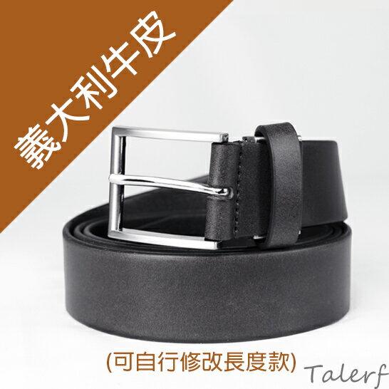 泰樂福購物網:【TALERF】簡約素面單層皮帶(黑色)-男→現貨