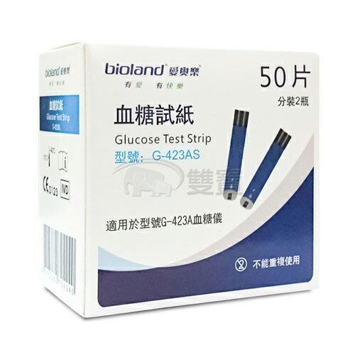 愛奧樂語音型血糖試紙-50片/盒