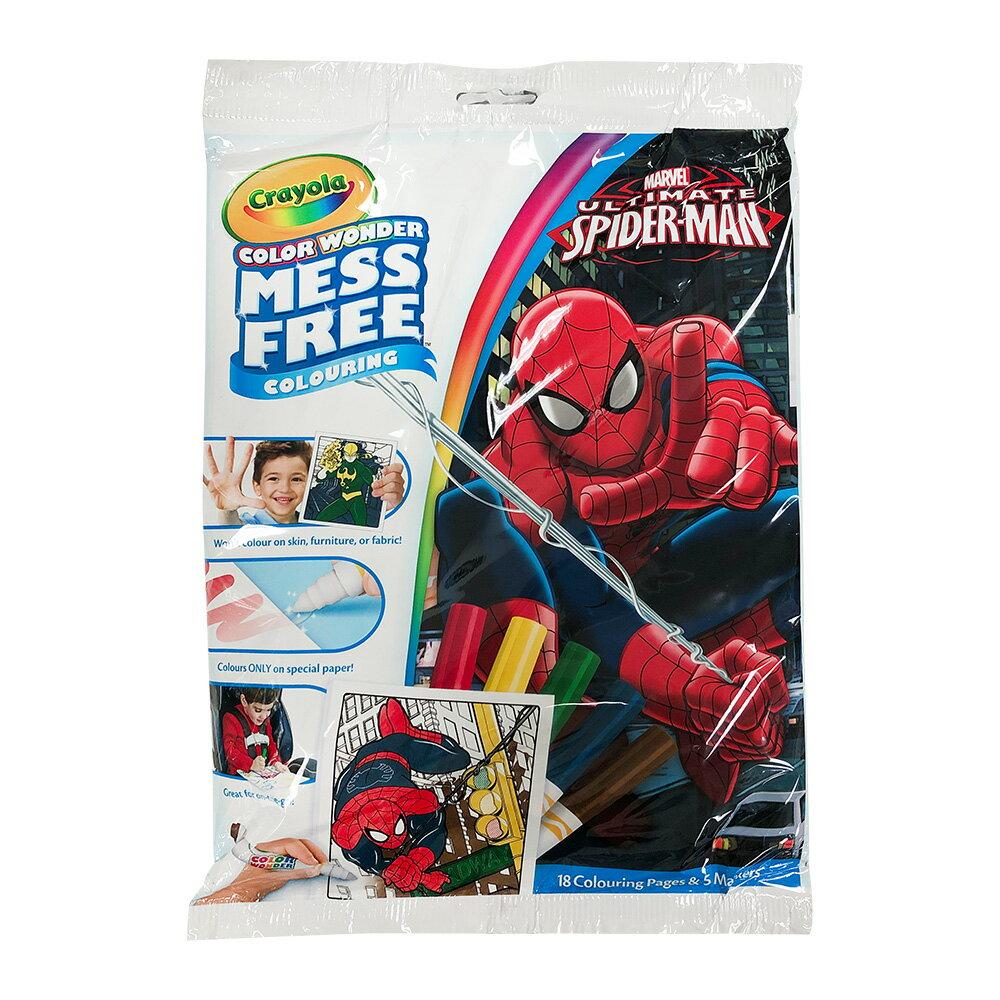 Crayola 神彩著色套裝 - 蜘蛛人 0