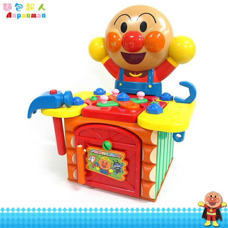 大田倉 麵包超人 Anpanman 工程玩具 工具箱玩具組 木工工作室 工匠玩具 修理工具組 176686