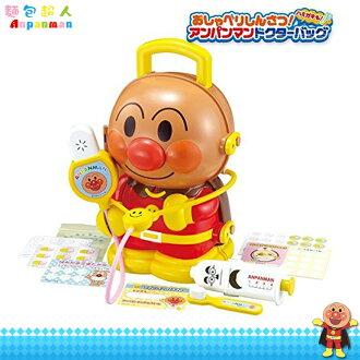 麵包超人 Anpanman 手提造型醫生玩具 醫生 扮家家酒 公仔提盒 收納玩具 日本進口正版 180157
