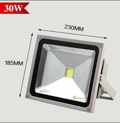 20W-100W  LED白光 廣告投射燈 舞台燈 投射燈 手提探照燈 廠房燈 招牌燈 工作燈 【S28】 2