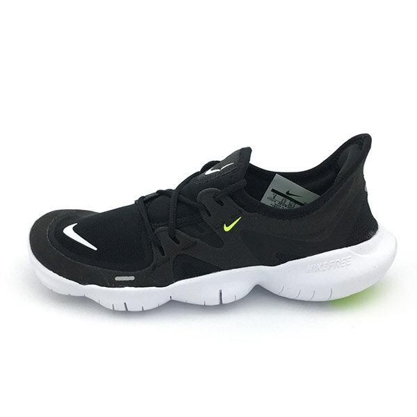【NIKE】WMNS NIKE FREE RN 5.0 運動鞋 跑步鞋 黑 女鞋 -AQ1316003 1