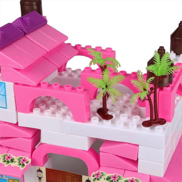 Kid Plastic Building Block Set Preschool Children Playing Toys 3