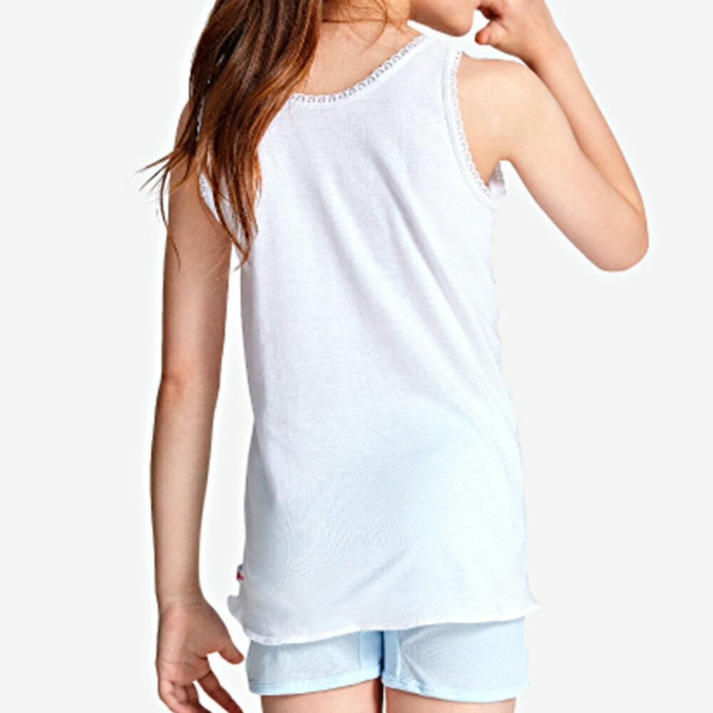 【Gunze郡是】原裝進口-兒童100%純棉女童背心(100cm~160cm) 2