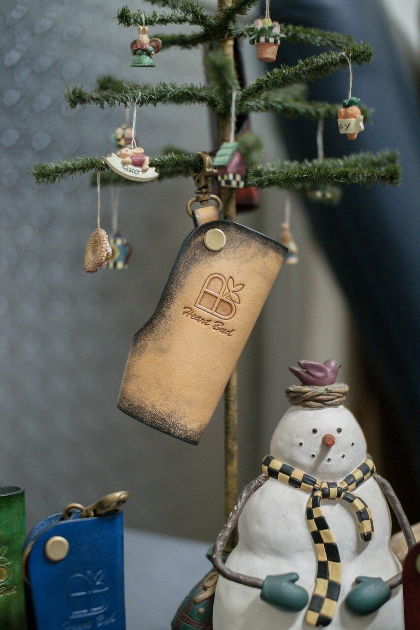 皮件 手工皮革 家用鑰匙/汽車鑰匙包