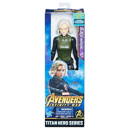 《復仇者聯盟‧無限之戰》12吋泰坦英雄人物-黑寡婦