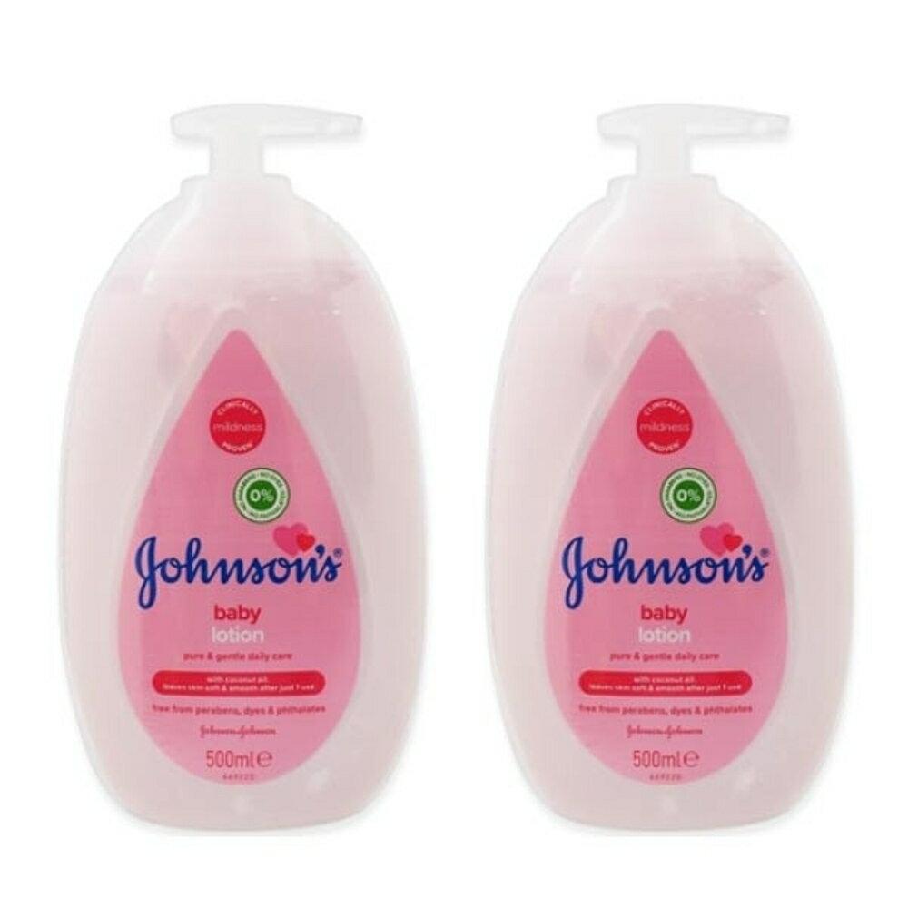 Johnsons 嬰兒潤膚乳液(500ml)【小三美日】◢D420951