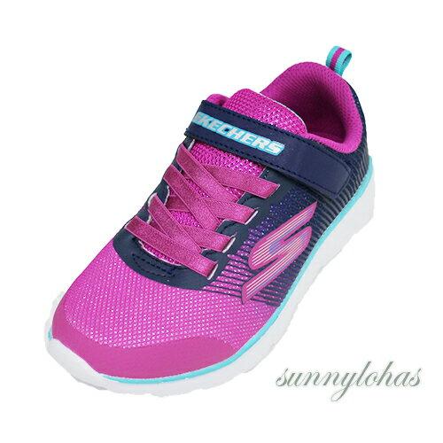 SKECHERS(童)運動系列GORUN400運動鞋慢跑鞋魔鬼氈-81354NNVP粉[陽光樂活]