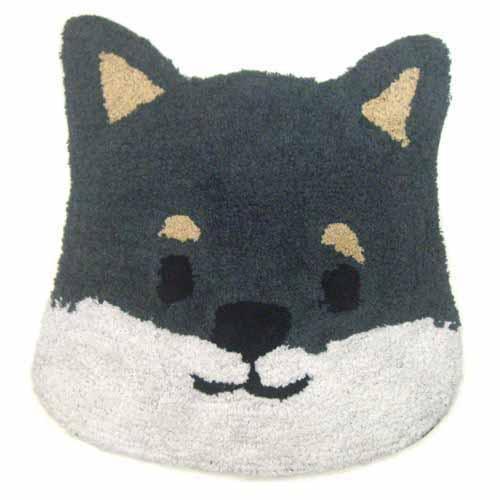 日本代購預購毛小孩犬造型圖案小狗圖案大門浴室地毯地墊腳踏墊796-197