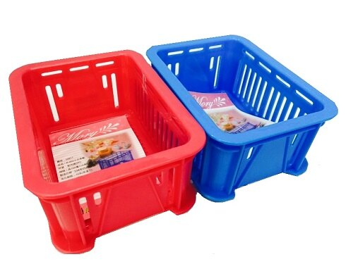 【豪上豪】K-002小文具籃/置物籃/盒子/收納盒(不挑色)