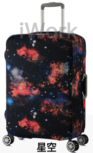 iWork:【iWork】20024彈力行李箱套拉桿箱旅行防塵罩袋保護套(星空)202428寸30寸加厚耐磨
