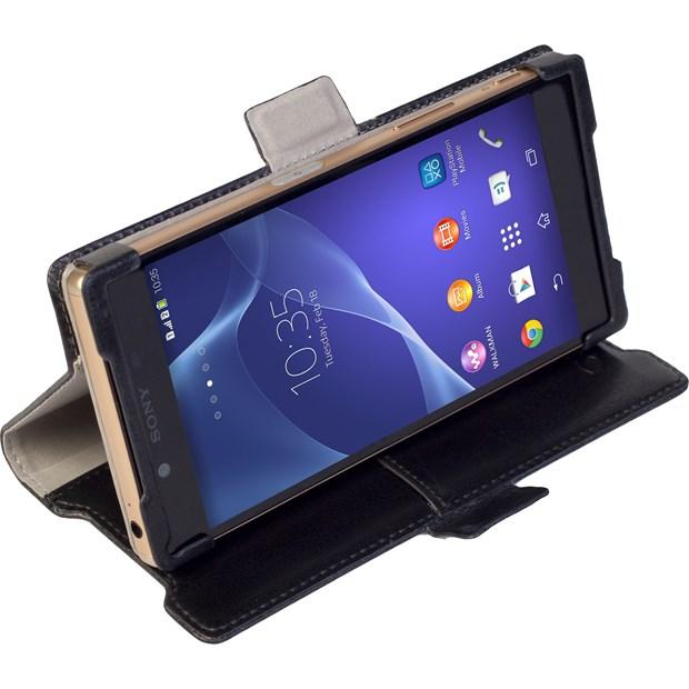 Krusell 側掀皮套/SONY Xperia Z5/手機殼/側掀套/手機皮套/翻頁皮套【馬尼通訊】
