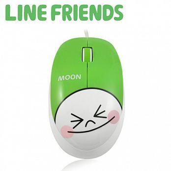 LINE FRIENDS 經典造型光學滑鼠 - 饅頭人 (LN-L03)