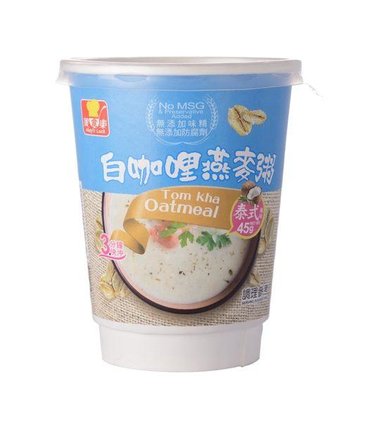 葵果 美食樂白咖哩燕麥粥 45g/杯