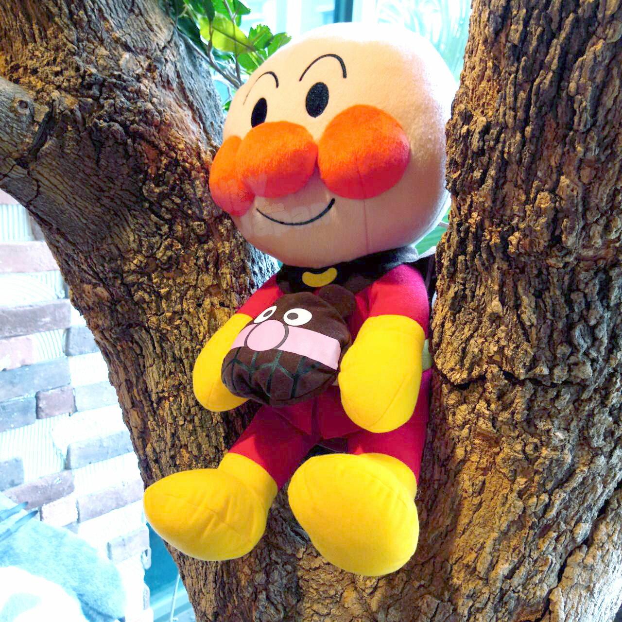 日本限定景品娃 麵包超人 抱細菌人 擺飾 收藏 娃娃 布偶 玩偶 兒童最愛 真愛日本