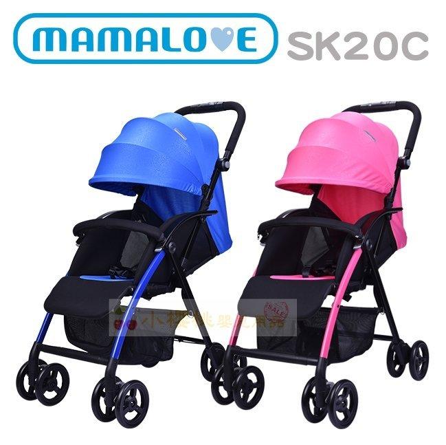 MAMALOVE媽媽愛--時尚手推車【手把可調角度】SK20C