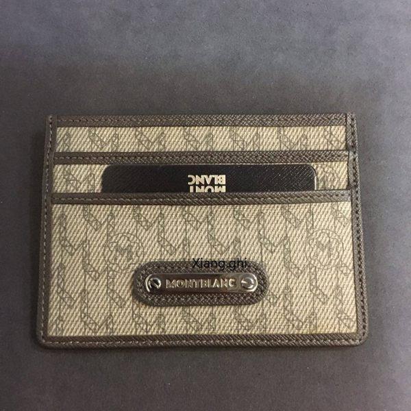 萬寶龍MONTBLANC~Logo單卡卡夾