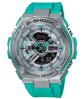 CASIOG-SHOCKGST-410-2A百老匯爵士樂多彩雙顯腕錶53mm