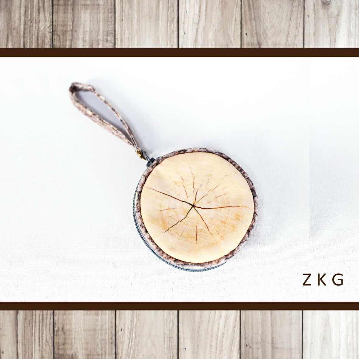 <br/><br/> ZKG 木系列-(出芽)圓形零錢包-單個入 台灣(手工製)*送禮*自用*<br/><br/>