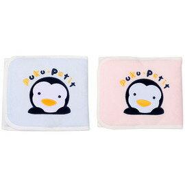 PUKU藍色企鵝 - 繡花肚圍 M (藍/粉) 0