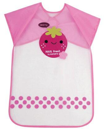『121婦嬰用品館』拉孚兒 擦可淨用餐圍兜(加長型) -草莓 0