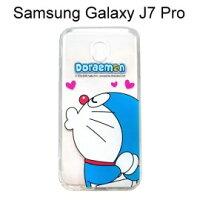 小叮噹週邊商品推薦哆啦A夢空壓氣墊軟殼 [嘟嘴] Samsung Galaxy J7 Pro (5.5吋) 小叮噹【正版授權】