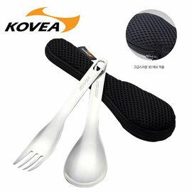 【鄉野情戶外用品店】 KOVEA |韓國| 304不鏽鋼匙叉組/KECT9JC-06