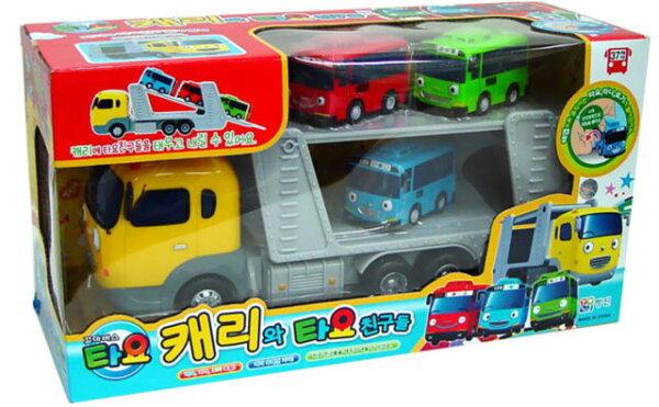 《TAYO小巴士》嗶嗶TAYO-凱莉運載車與好朋友們