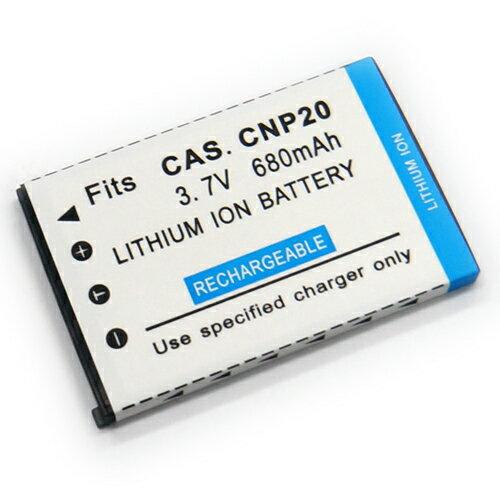 CASIO NP~20 NP20 相機電池 EX~S100 S500 S600 S770