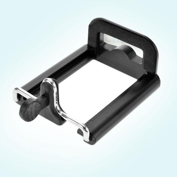 可拉式手機背夾自拍手機夾(14螺紋)適用5.5~8.5cm寬的手機通用型雲台螺絲架