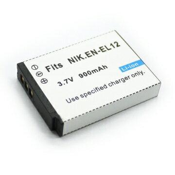 Nikon EN-EL12 ENEL12 相機電池 Coolpix S70 S610 S610C S620 S630 S640 S710 S8000 S1000 S1000pj S6000 P300 S1100PJ S8100PJ P310 S9100 S9300 S8200 S1200 S800C S31 AW100 900mAh