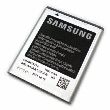 SAMSUNGS7230S-7230Wave723S5750S-5750Wave575S5330S-5330GalaxyminiS5570EB494353VU原廠電池1200mAh
