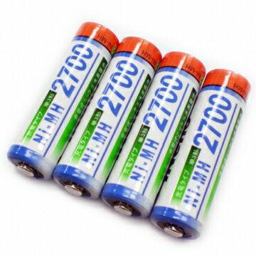 iNeno 艾耐諾3號 三號 充電電池 AA-Rechargeable 2700mAh 四入裝