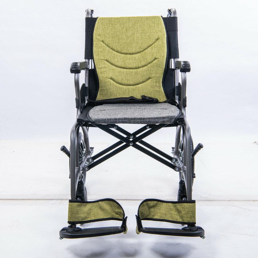 輪椅-B款 鋁合金 輕量型 小輪 均佳 JW-X30-12 好禮六選一