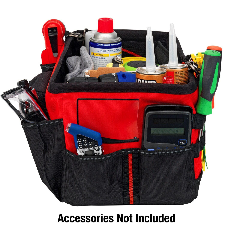 Powerbuilt 21-Inch Car Trunk Tool Storage Carrier Organizer Bag - 642412 2
